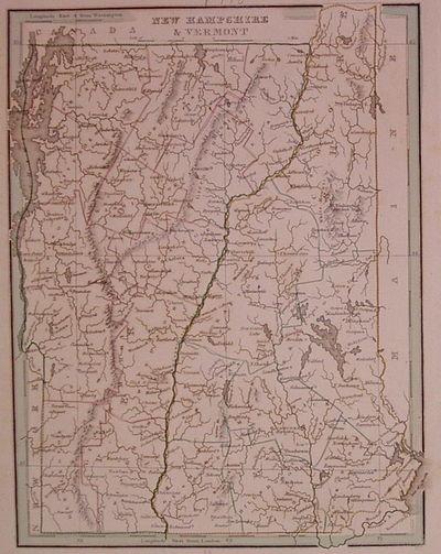 Boston: Bradford, Thomas Gamaliel, 1835. unbound. very good. Map. Engraving with original hand outli...