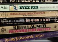 image of The Illustrated Man; Eve's Rib; Buck Alice and the Actor-Robot; the Return  of Retief; Reward for Retief; and the Way to Dawnworld (6 Books)