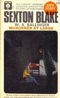 Murderer at Large. Sexton Blake Library 5th Series No. 1