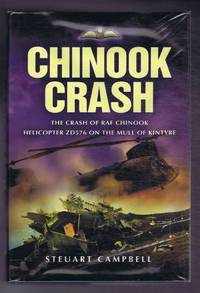 image of Chinook Crash. The crash of RAF Chinook helicopter ZD576 on the Mull of Kintyre