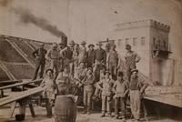 Photo Album Depicting Construction Crews