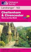 image of Cheltenham and Cirencester, Stow-on-the-Wold (Landranger Maps)