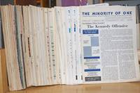 The minority of one; independent monthly publication, dedicated to the elimination of all thought restrictions except for the truth [subhead later modified to read] Independent monthly for an American alternative --dedicated to the eradication of all restrictions on thought [broken run, 73 unduplicated items]