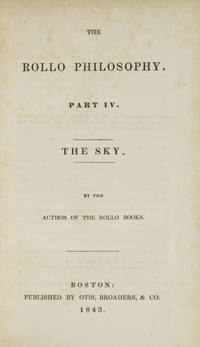 The Rollo Philosophy. Part IV. The Sky