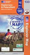 image of Haslemere and Petersfield (OS Explorer Map Active)