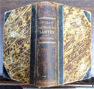 New York: Masonic Publishing Company; John G. Wells Marbled boards. Spine lettered in gilt. Corners ...