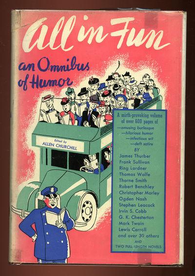 New York: Robert M. McBride, 1940. Hardcover. Near Fine/Very Good. First edition. Near fine in a ver...