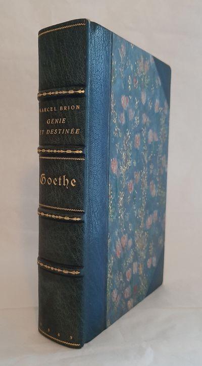 Goethe. Genie et Destinee.