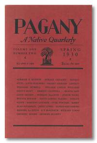 PAGANY  A NATIVE QUARTERLY by Pagany - 1933 - from William Reese Company - Literature ABAA-ILAB (SKU: WRCLIT70862)