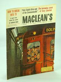 Maclean's - Canada's National Magazine, 19 December (Dec.) 1959 - The Mighty Siftons / Terry Sawchuk