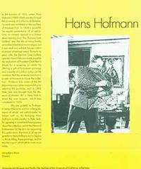 The Hans Hofmann Collection at the University Museum and Pacific Film Archive of the University of California at Berkeley [Brochure].