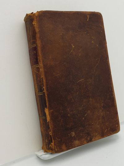 Boston.: T.Carter., 1826. Fourth edition.. Contemporary full calf, red spine label, gilt title.. Goo...