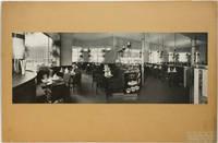 """[Photographie originale signée] : Intérieur du bar automatique """"Presto"""", place de la Bourse à Paris (architecte : Otto Bauer), vers 1930"""