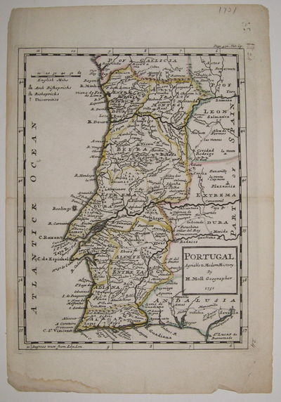 London. unbound. very good. Map. Engraving with hand outline color. Image measures 10.25