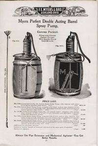MYERS SPRAY PUMPS:  No. SP 12