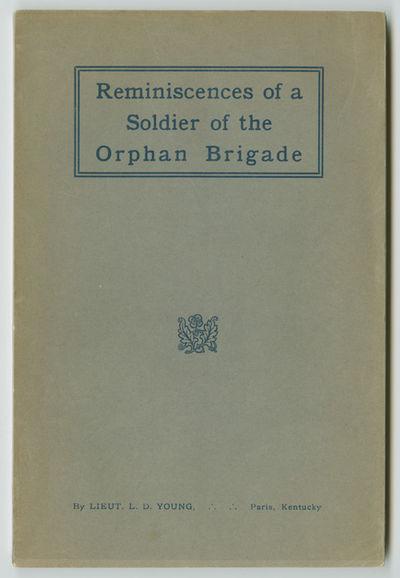 Paris, Ky. [i.e., Louisville: Courier-Journal Job Printing Company, 1918. 99pp. Original stiff print...