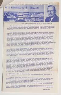 image of Joe D. Waggoner Jr. Reports. No. 6 (July 1963)