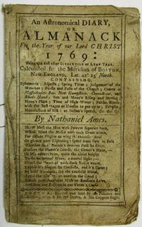 AN ASTRONOMICAL DIARY, OR, ALMANACK FOR THE YEAR OF OUR LORD CHRIST 1769