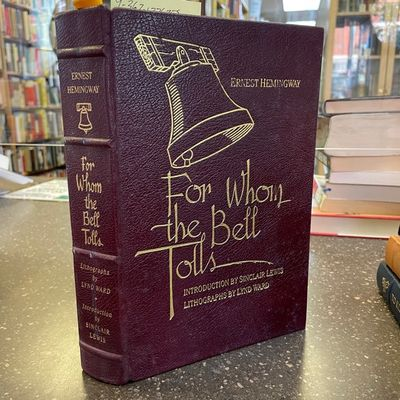 Norwalk, CT: Easton Press, 1968. Hardcover. Large octavo, 498 pages; VG; bound in fine brown genuine...