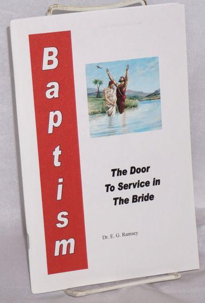 Houston, MO: America Today Publishers, . 56p., very good in staplebound wraps. Christian Identity tr...