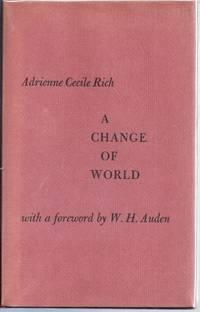 A CHANGE OF WORLD