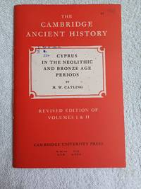image of Cyprus in the Neolithic and Bronze Age Periods