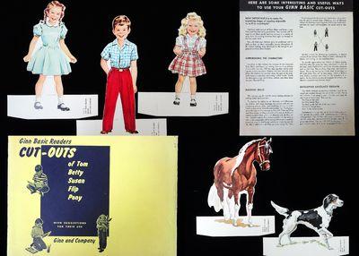 Boston: Ginn Basic Readers, 1950s. The five dolls consist of three children, Tom, Betty, and Susan, ...