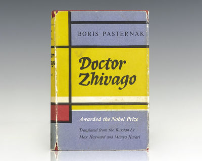 London: Collins & Harvill, 1958. First edition in English of the work which garnered Pasternak the N...
