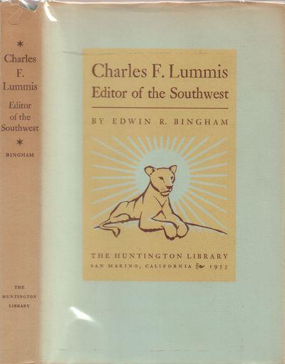 San Marino, CA: Huntington Library Press, California. Very Good in Good dust jacket. 1955. Hardcover...