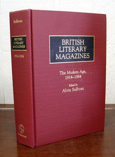 Westport: Greenwood Press, 1986. 1st edition. Maroon cloth. No dust jacket (as issued). Fine.. xxx, ...
