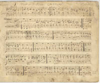 Collection of musical manuscript of settings for one or more voices and organ, most probably autograph