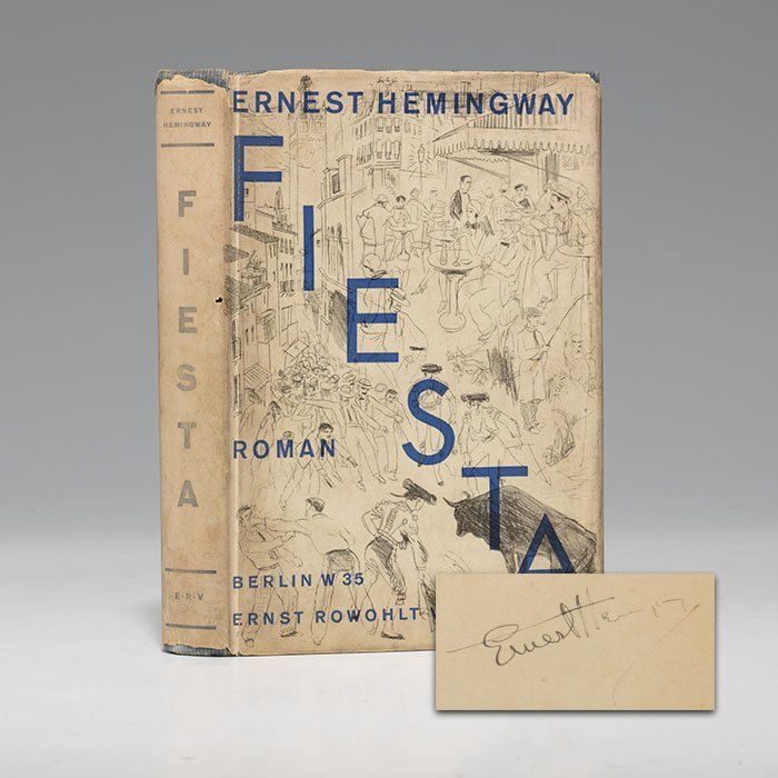 a review of ernest hemingways book the sun also rises The sun also rises by ernest hemingway, 9781501121968, available at book depository with free delivery worldwide.