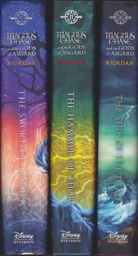image of Magnus Chase and the Gods of Asgard, complete matching set, First Editions
