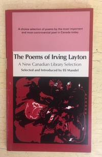 The Poems of Irving Layton by Irving Layton - Paperback - 1977 - from J.H. Gordon Books (SKU: 00100)