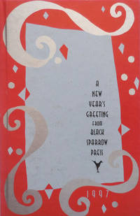 A New Year's Greeting From Black Sparrow Press 1997 - A New War