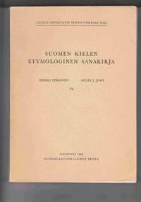 image of Suomen Kielen Etymologinen Sanakirja IV