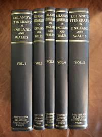 image of Leland's Itinerary in England and Wales, Volume I-V (5 volumes)
