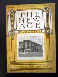 THE NEW AGE Magazine September 1921 - Used Books