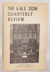 The A.M.E. Zion quarterly review: vol. lxxx, no. 4 (Winter 1968)