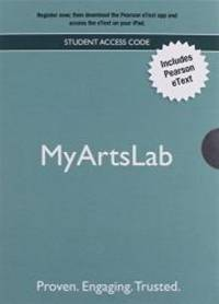 NEW MyArtsLab with Pearson EText - Valuepack Access Card