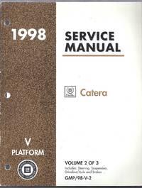 1998 Cadillac Catera Service Manual. (V Platform)  Volume 2 of 3 GMP/98-V-2