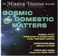 image of The Mirror Visions Ensemble performs Cosmic_Domestic Matters [COMPACT DISC]
