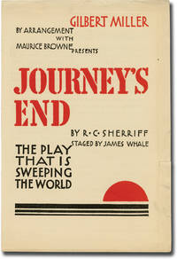 image of Journey's End (Original advertising flyer for the 1929 play)