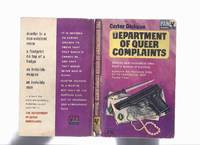 image of Department of Queer Complaints ( New Invisible Man; Footprint Sky; Crime in Nobody's Room; Hot Money; Death in Dressing Room; Silver Curtain; Error at Daybreak;  Other Hangman; New Murders for Old; Blind Man's Hood; Persons or Things Unknown )( Dept.)