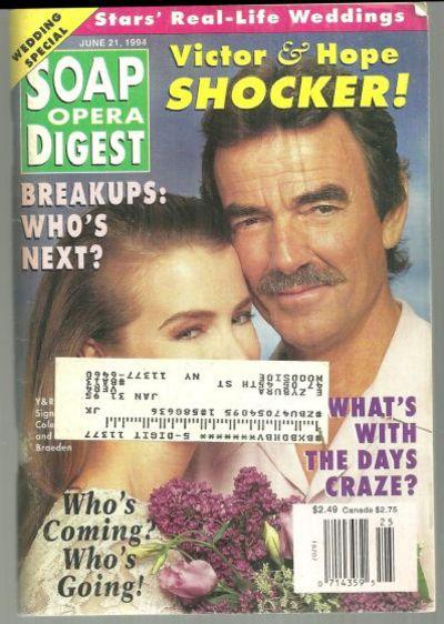 SOAP OPERA DIGEST JUNE 21, 1994, Soap Opera Digest