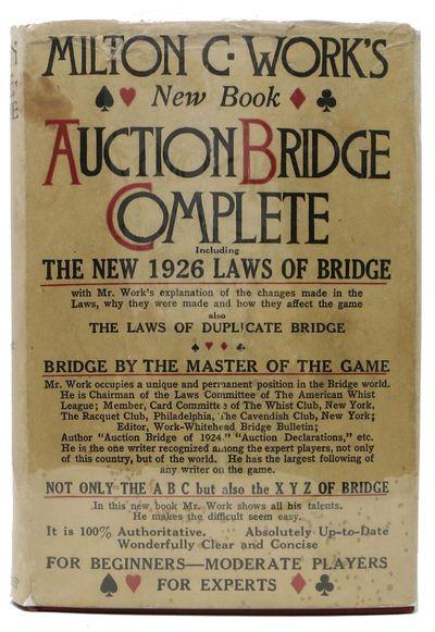 Philadelphia: John C. Winston Co, 1926. Red cloth with gilt lettering. NF (sm erasure abrasion to up...