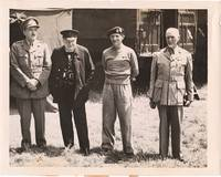 Wartime Photograph of Prime Minister  Churchill,  Normandy, France , June 15,1944,   nine days after the Allied invasion of France