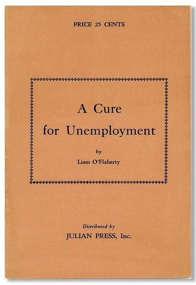 New York: Julian Press, . First American Edition. 12mo (18.5cm.); publisher's salmon staple-bound wr...