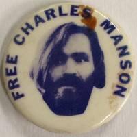 Free Charles Manson [pinback button]