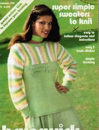 image of Super Simple Sweaters to Knit -- Volume 795 Brunswick